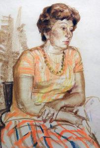 Лена-бумага-сангина-50х39-1974